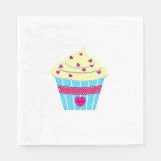 Personalize Yummylicous Cupcake Paper Napkins