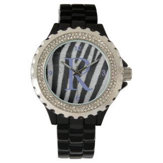 Personalize Zebra Design Watch
