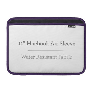 Personalized 11in Macbook Air Sleeve