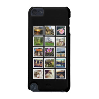 Personalized 15 Instagram Photos in Collage iPod Touch (5th Generation) Cases