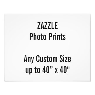 "Personalized 18"" x 14"" Photo Print, or custom size"