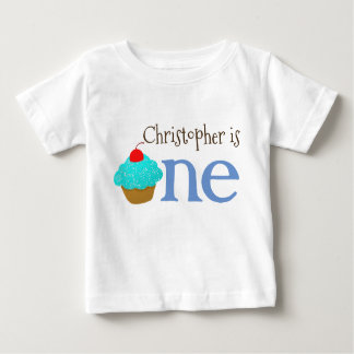 Personalized 1st Birthday Cupcake Shirt