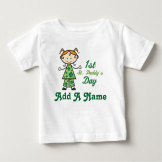 Personalized 1st St Patricks Day tee