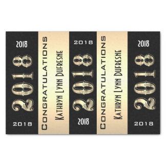 Personalized 2018 Graduation Tissue Paper