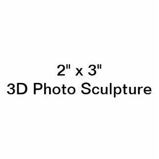 "Personalized 2"" x 3""  Photo Sculpture"