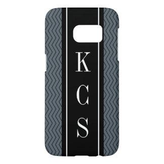 Personalized 3 letter monogram luxury phone case