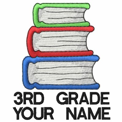 Personalized 3rd grade teacher shirt polo shirts zazzle for Custom embroidered polo shirts no minimum order