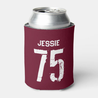 Personalized 75th Birthday Can Cooler