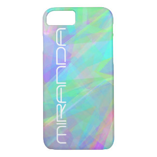 Personalized Abstract Pastel iPhone 7 Case