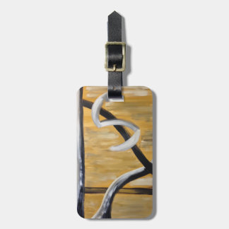 Personalized Abstract Rustic Southwestern Design Luggage Tag