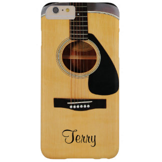 Personalized Acoustic Guitar  iPhone 6 Plus Case
