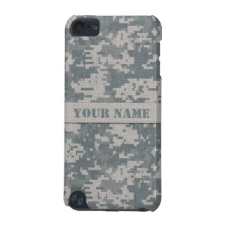 Personalized ACU Digital Camo iPod Touch Case