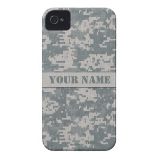 Personalized ACU Digital Camouflage iPhone 4 iPhone 4 Case