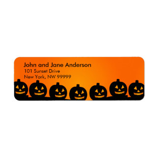 Personalized Address Label Series - October