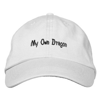 Personalized Adjustable Hat; My Own Dragon Design Embroidered Hats