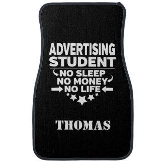 Personalized Advertising Student No Sleep Money Auto Mat