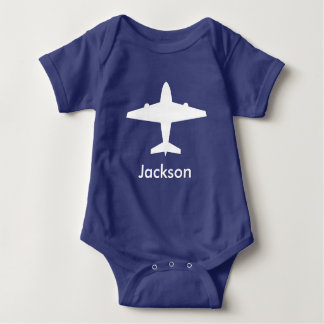 Personalized Airplane Shirt for Kids