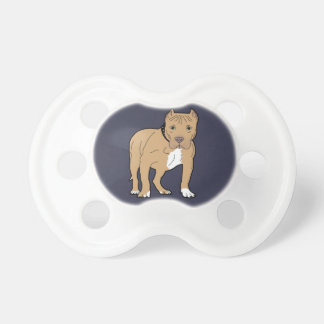 Personalized American Pitbull Dog Pacifier