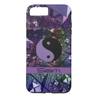 Personalized Amethyst Yin Yang iPhone 7 Plus Case