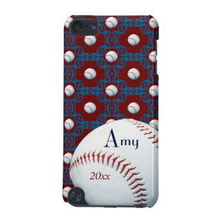 Personalized Amy Baseball Motif Ipod Touch Case