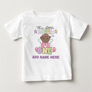 Personalized Angel Girl 1st Birthday Tshirt
