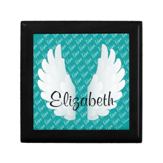 Personalized Angel Wings Gift Box