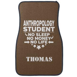 Personalized Anthropology Student No Sleep Money Car Carpet