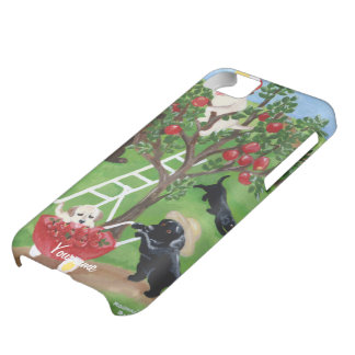 Personalized Apple Tree Labradors Case For iPhone 5C
