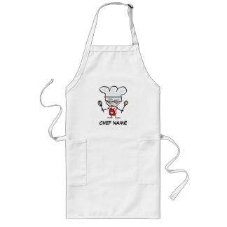 Personalized apron | Add chef name