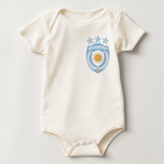 Personalized Argentina Sport Jersey Infant Creeper