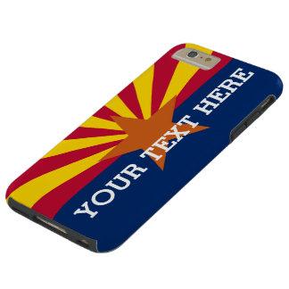 Personalized Arizona Flag Tough iPhone 6 Plus Case