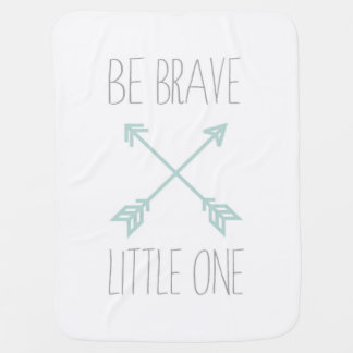 Personalized Arrows Tribal Design Baby Blanket