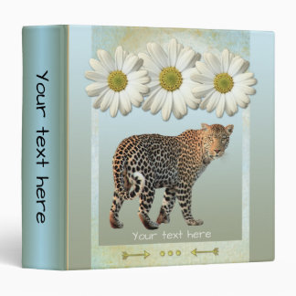 Personalized Artistic Daisy Binder