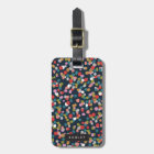 Personalized | Ashley Dots Luggage Tag