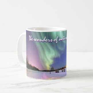 Personalized Aurora Borealis Northern Lights Coffee Mug