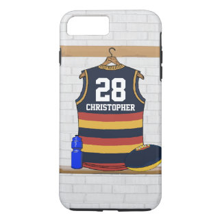 Personalized Aussie Rules Football Jersey BRY iPhone 7 Plus Case