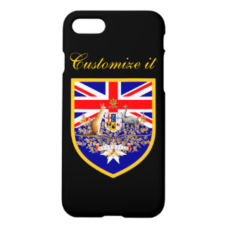 Personalized Australia Flag iPhone 7 Case