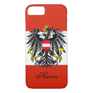 Personalized Austria Flag iPhone 7 Case