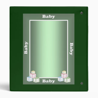 Personalized Avery Binder BABY Memory book