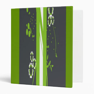 Personalized Avery Binder Memory book flowers
