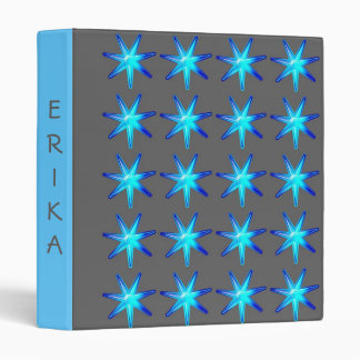Personalized Avery Binder Memory book STARS