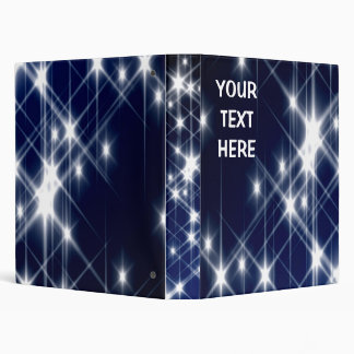 Personalized Avery Binder Memory book STARS
