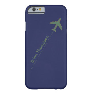 personalized aviator barely there iPhone 6 case