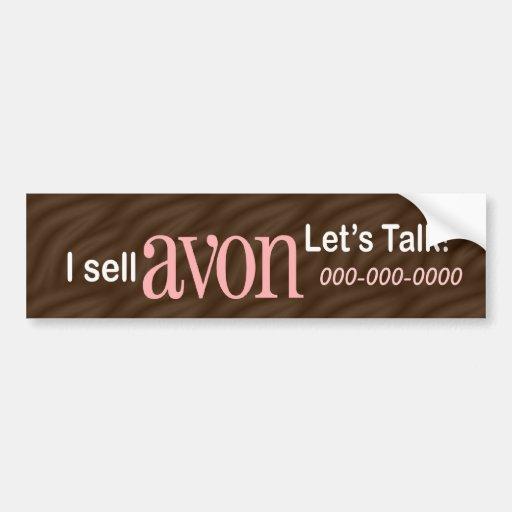 Personalized Avon Bumper Sticker