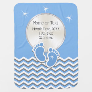Personalized Baby Boy Blankets with Name