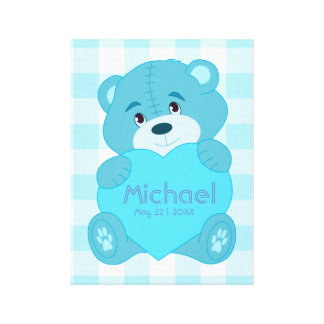 Personalized baby boy room decor