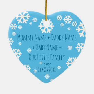 Personalized Baby First Christmas Tree Ornament