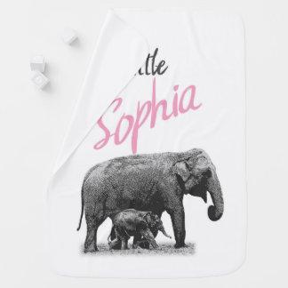 "Personalized Baby Girl Blanket ""Little Sophia"""