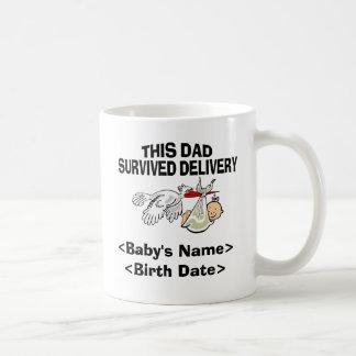 Personalized Baby Girl Gift Coffee Mug