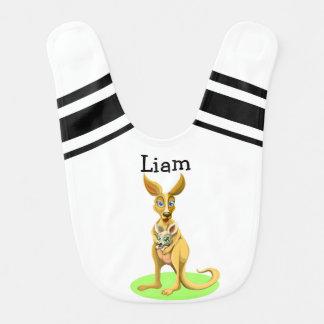 Personalized Baby Kangaroo Bib